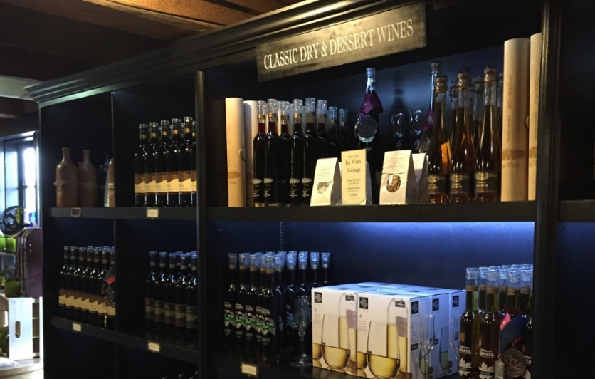 Classic dry and dessert wines at Johnson Estate Winery in Westfield, NY