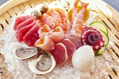 Sushi at SEABAR
