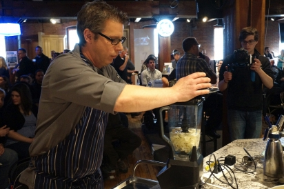 Nickel City Chef Adam Goetz works in the state-of-the-art NCC kitchen.