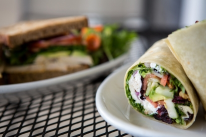 Sandwich and wrap at Organic 3 Cafe in Snyder, NY