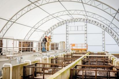 TimberFish Technologies treatment system at Mazza Five & 20