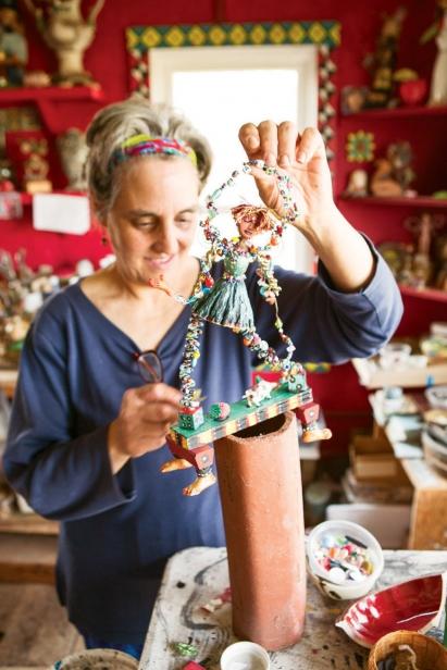 Chautauqua ceramic artist Katherine Gullo