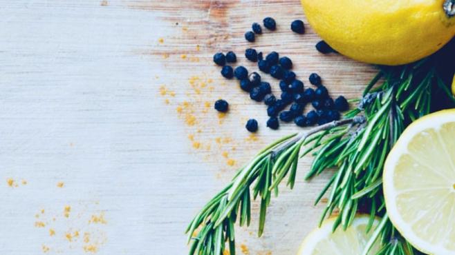 Lemon Ginger Morning Tea